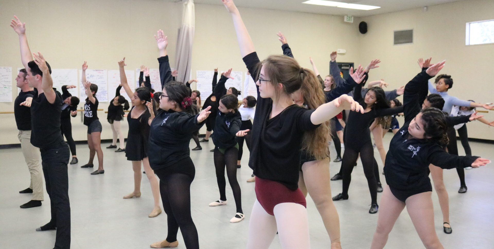 "Ramona HS Students Take ""A Chorus Line"" Master Class"